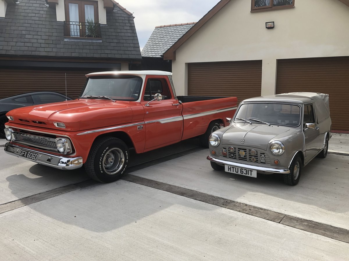 1966 CHEVROLET STUNNING C10 PICK UP TRUCK V8 PX MUSTANG CLAS For Sale (picture 3 of 6)