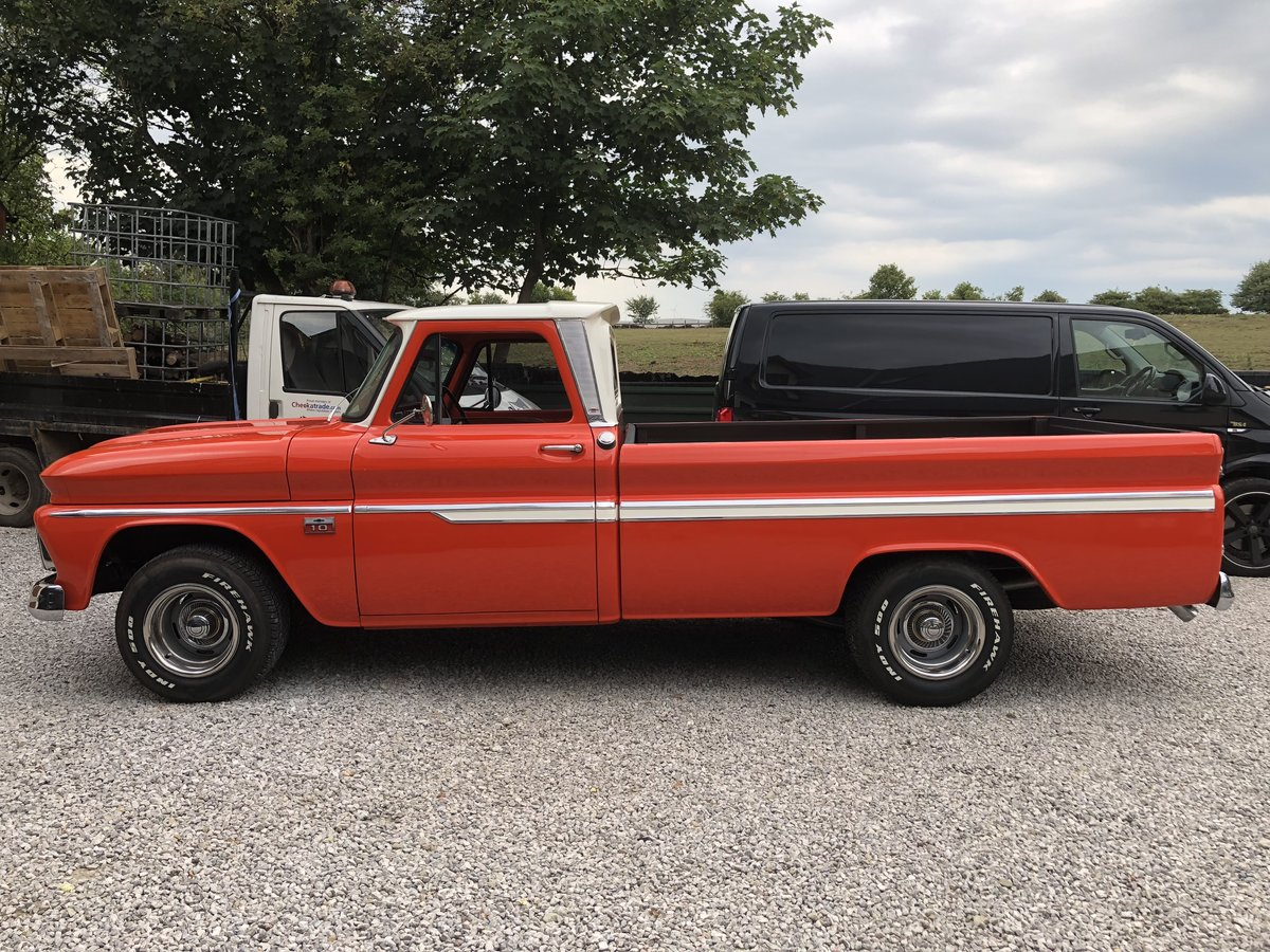 1966 CHEVROLET STUNNING C10 PICK UP TRUCK V8 PX MUSTANG CLAS For Sale (picture 5 of 6)
