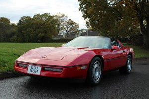 Chevrolet Corvette 1987 - To be auctioned 31-01-20