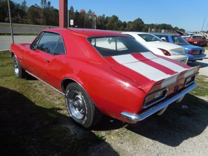 1967 Camaro Coupe Restored Red 350 Auto AC low miles $23.5k For Sale
