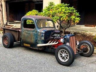 1939 Chevrolet Custom Rat Rod Truck Fun + Fast 427  $19.9k