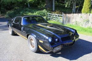 1979 Chevrolet Camaro Z28 Coupe Clean Black Auto $12.9k For Sale