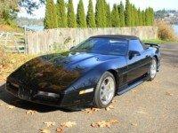 1989 Corvette Convertible C4 Roadster Black Auto $10.5k For Sale