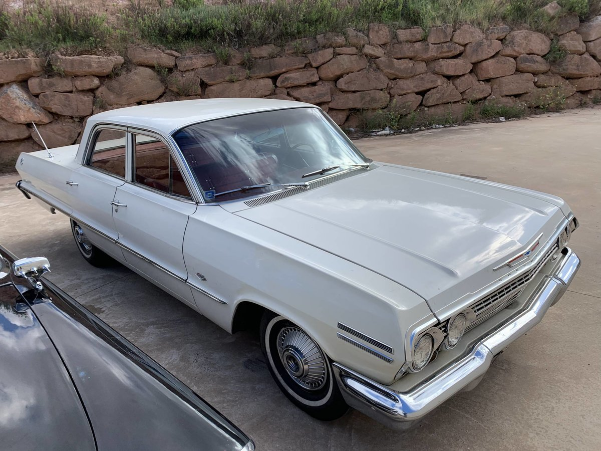 1963 Cheverolet Impala Sedan 327 V8 Auto Located in Spain For Sale (picture 1 of 6)