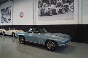 CHEVROLET CORVETTE C2 Convertible 327 350 HP V8 sb (1966) For Sale