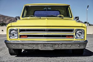 1967  CHEVY C10 Short bed Step side