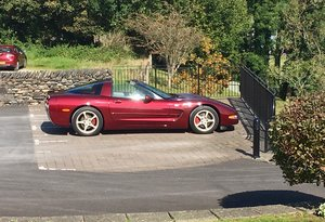 2004 CORVETTE 50th Aniversary Targa Coupe For Sale