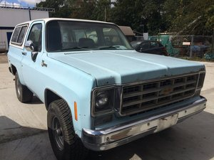 Chevy Blazer 1977 new Californian Arrival For Sale