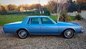 1984 CHEVROLET IMPALA 3.8 V6 JUST 26,000 MILES FINEST AVAILABLE  For Sale