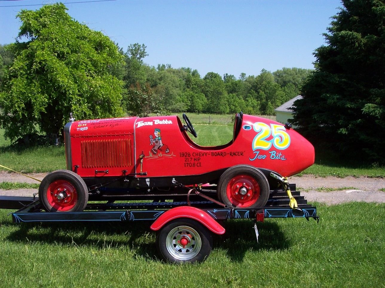 1929 1920´s Chevy Bordtrack Racer Sprintcar Midget For Sale (picture 5 of 6)