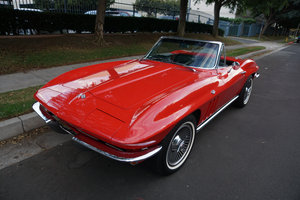 1965 Chevrolet Corvette Roadster 327/365HP V8 4 spd SOLD