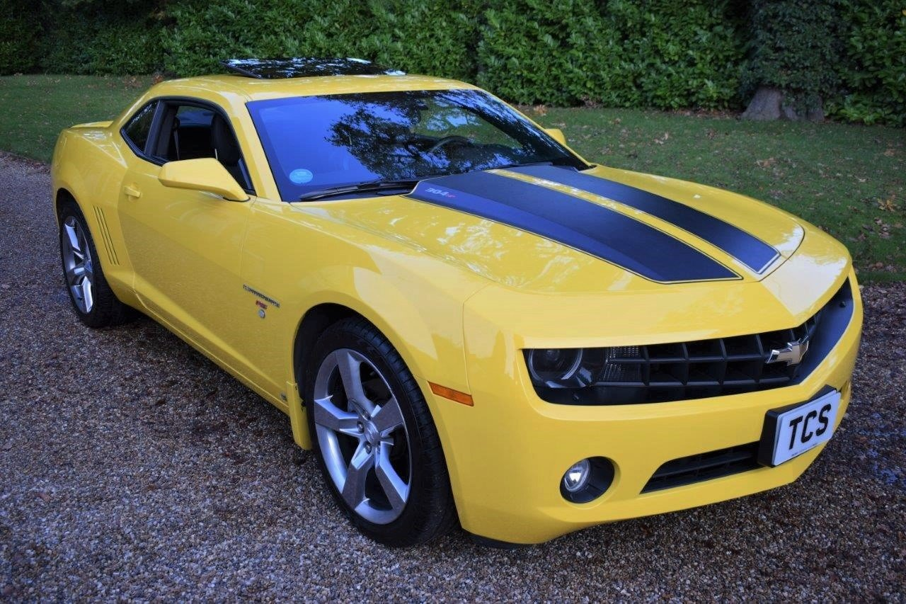 2010 Chevrolet Camaro RS Coupe 6-Speed Manual For Sale (picture 1 of 6)