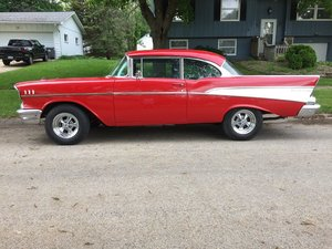 Picture of 1957 Chevrolet Bel Air 2DR HT .. RED For Sale