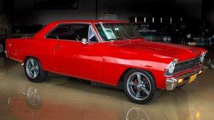 1966 Nova SS Pro-Touring 383ci Stoker 450+HP Manual $43.9k For Sale
