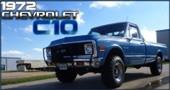1972 C10 Custom 4x4 Pick-Up Truck LongBed 350-350 $19.7k