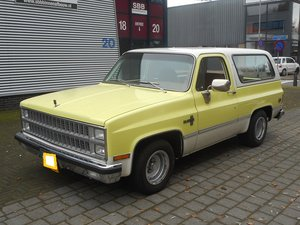 1981 CHEVROLET BLAZER 5.0 V8 2WD For Sale