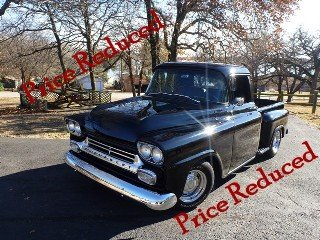 1958 3100 Pickup Truck Step-Side Custom 454 AT PS AC $52.5k For Sale