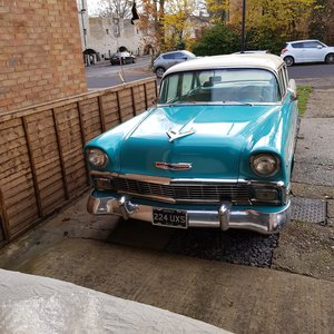 1956 Chevrolet y Bel Air  Auto