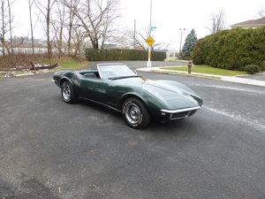 1968 Chevy Corvette Convt Matching #s Nice Driver -