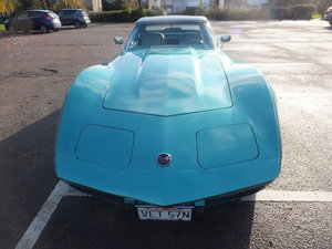 1975 Chevrolet Corvette 4 Speed manual car.