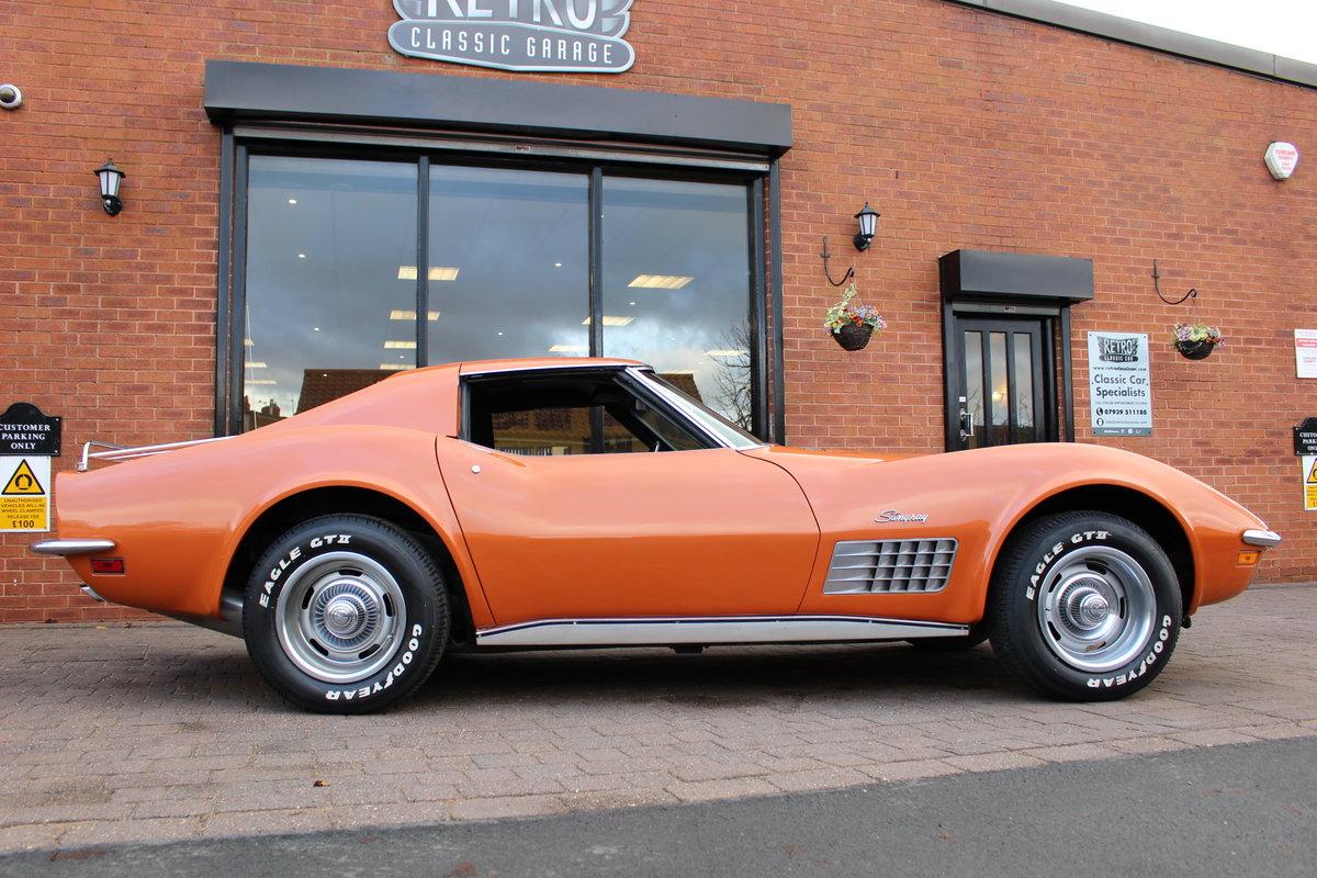 1972 Corvette Stingray 350 Auto   18K Body Off Restoration For Sale (picture 2 of 10)
