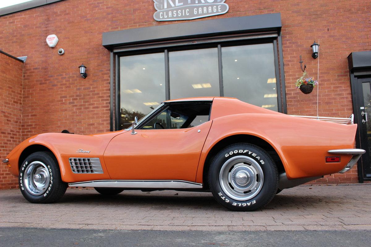 1972 Corvette Stingray 350 Auto   18K Body Off Restoration For Sale (picture 5 of 10)
