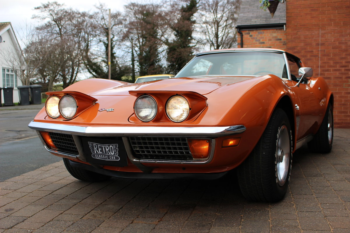 1972 Corvette Stingray 350 Auto   18K Body Off Restoration For Sale (picture 6 of 10)