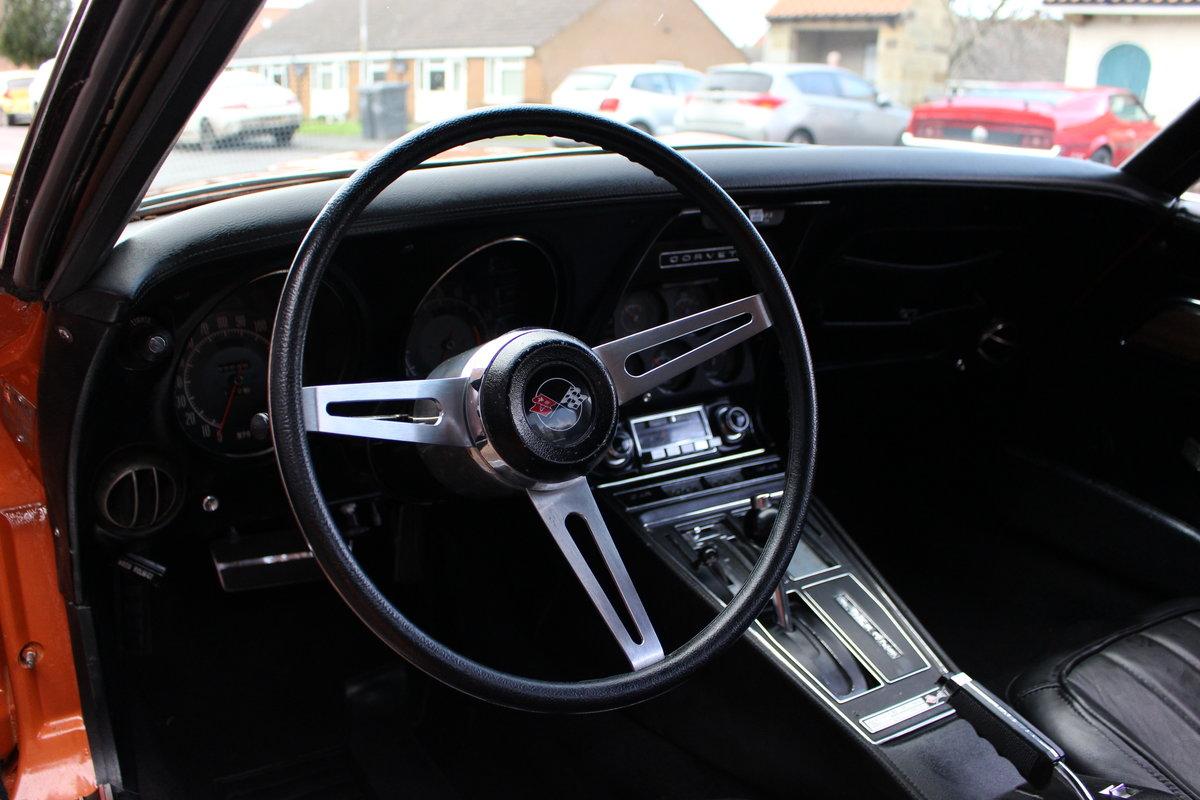 1972 Corvette Stingray 350 Auto   18K Body Off Restoration For Sale (picture 9 of 10)