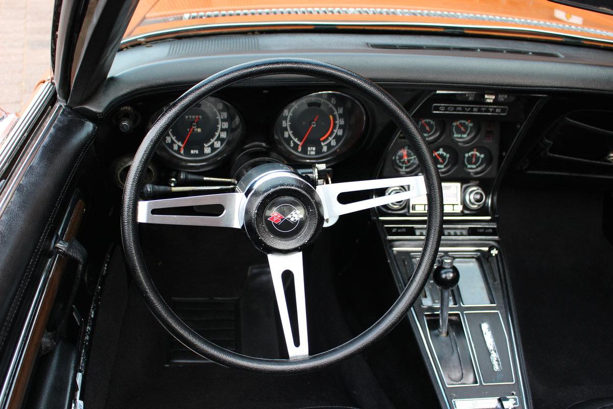 1972 Corvette Stingray 350 Auto   18K Body Off Restoration For Sale (picture 10 of 10)
