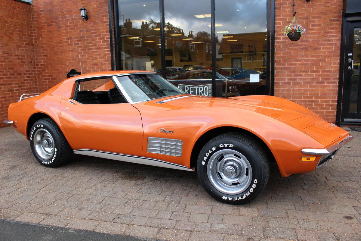 1972 Corvette Stingray 350 Auto   18K Body Off Restoration For Sale (picture 1 of 10)