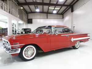 Roman Red 1960 Chevrolet Impala Sport Coupe For Sale