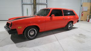1977 Pontiac ASTRE Astre Wagon very Rare 4-cyls AC AT $9.5k For Sale