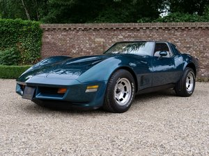 1981 Corvette C3 T-Top 22.615 miles!! matching numbers, rare colo For Sale