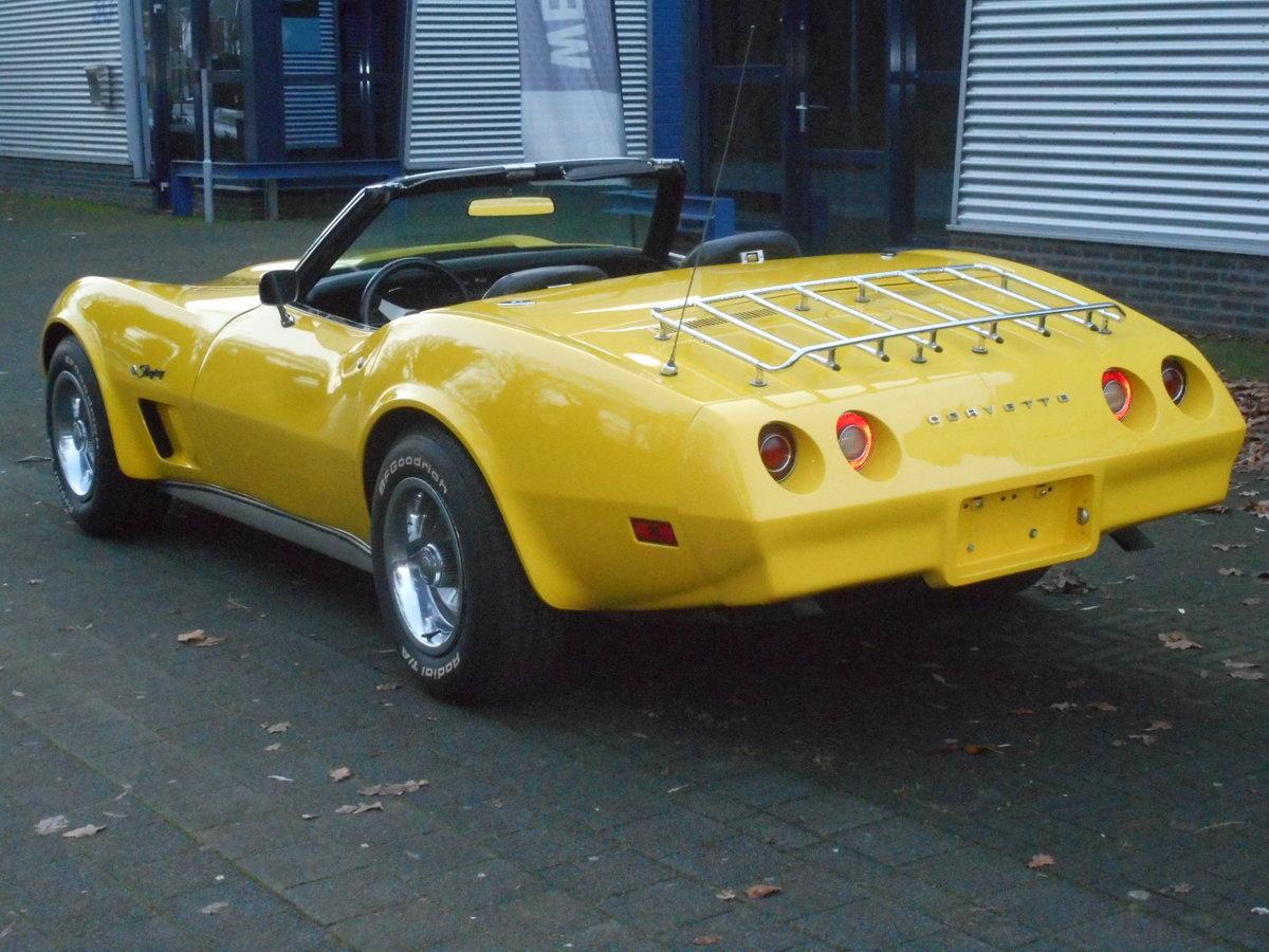 1974 CHEVROLET CORVETTE C3 CONVERTIBLE  For Sale (picture 2 of 6)