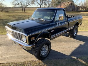 Picture of 1972 72 Chevrolet K-10 Super Cheyenne 4x4 AC PS PB Houndstooth SOLD