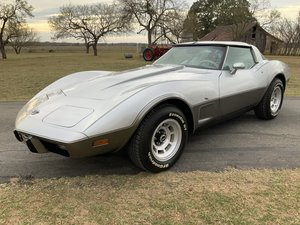 Picture of 1978 78 Chevrolet Silver Anniversary Corvette L82 4-Speed 24K Mil SOLD
