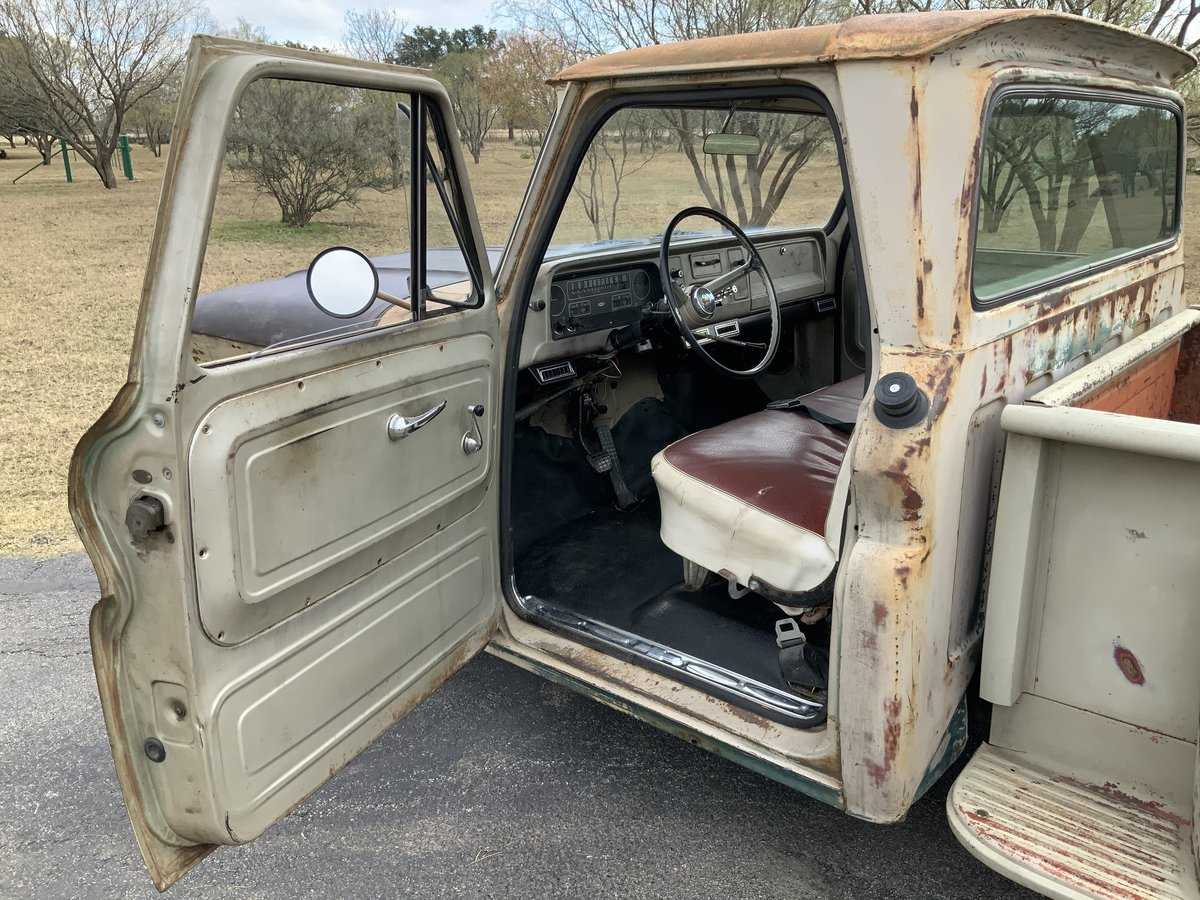 1965 65 Chevrolet C20 Rat/Restomod SWB Stepside Big Window LS  For Sale (picture 2 of 6)