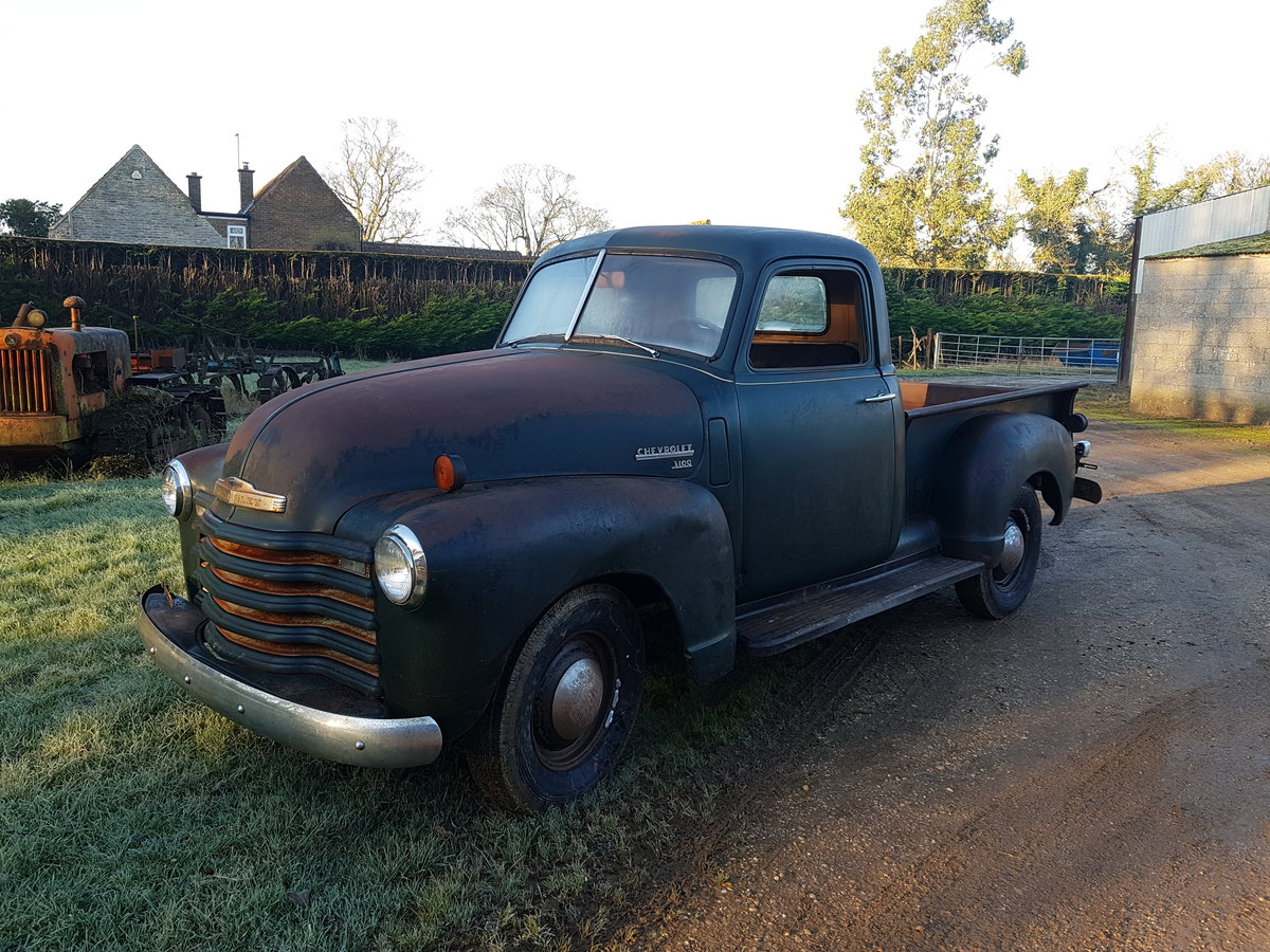 1950 Chevy 3100 Stepside Pickup truck For Sale (picture 1 of 5)