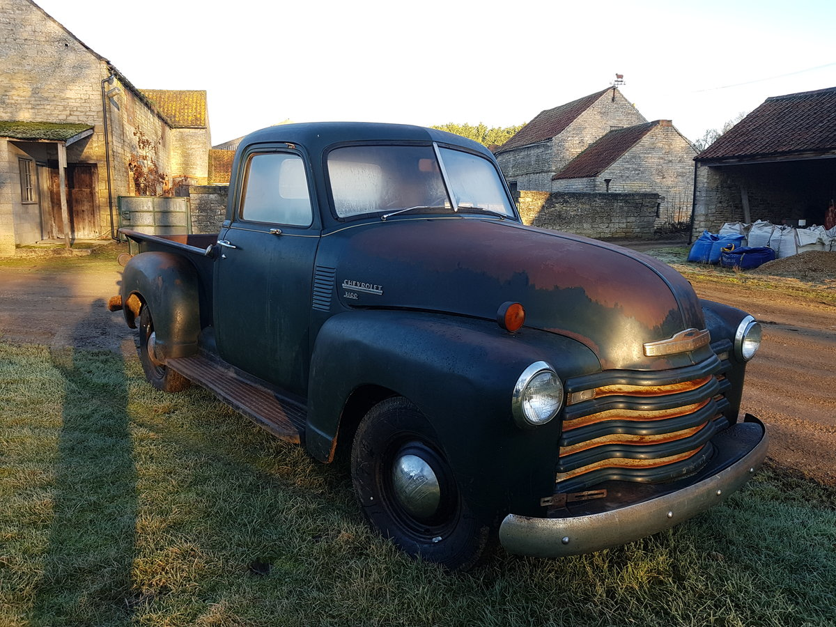 1950 Chevy 3100 Stepside Pickup truck For Sale (picture 2 of 5)