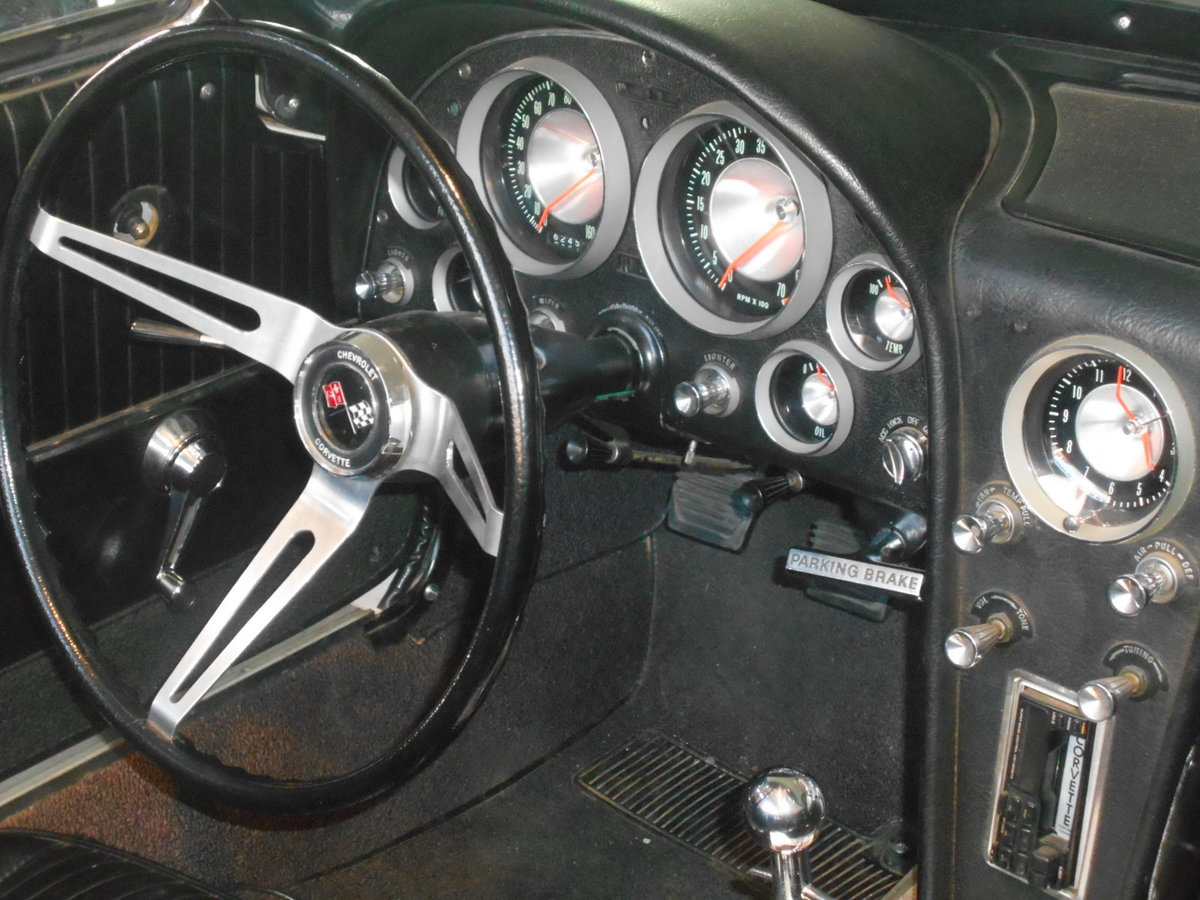 1963 Chevrolet Corvette C2 Sting Ray Cabriolet  For Sale (picture 5 of 6)