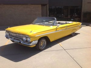 1961 chevy Impala Convertible 46k miles 350 AT $65k TV Video For Sale