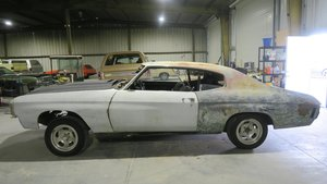 1971  Chevy Chevelle 4 speed Project No Engine Manual $8.5k