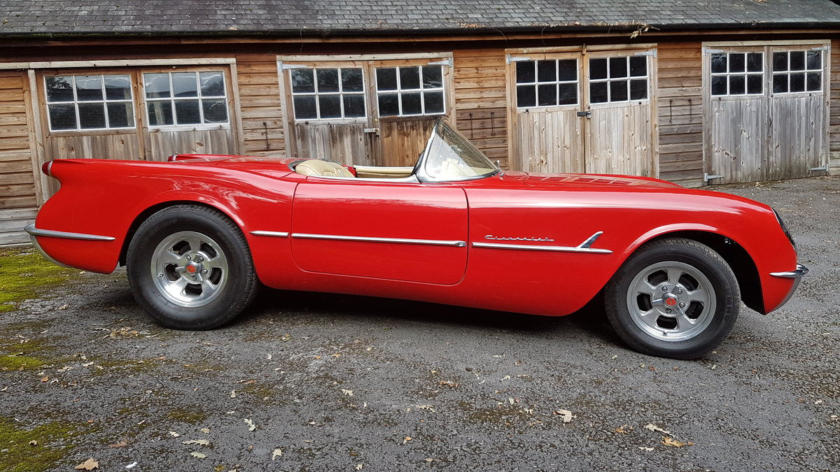 1953 style  corvette  C1 with 5.7ltr   350 block For Sale (picture 1 of 6)