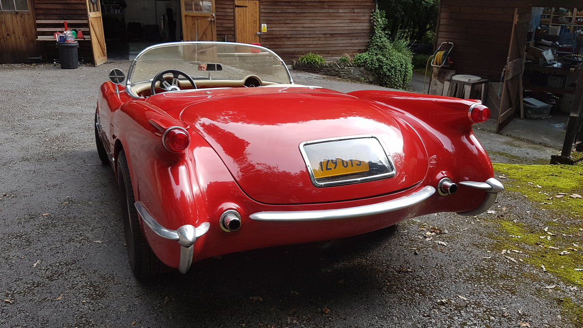 1953 style  corvette  C1 with 5.7ltr   350 block For Sale (picture 3 of 6)