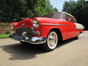 True 1 Owner, 47k Actual Miles, 1955 Chevrolet Belair 2 Door For Sale