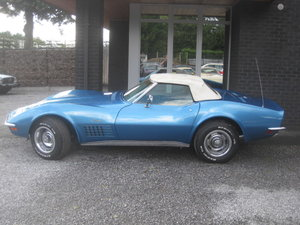 1970 Chevrolet Corvette C3 Cabriolet ' Rare Chromebumper model ! For Sale
