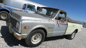 1971 Chevrolet C20 Long-bed Pick Up Truck 350 Manual $3.9k