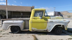 1956 Chevy 3200 3200 Short Bed Project No Engine  $2.9k
