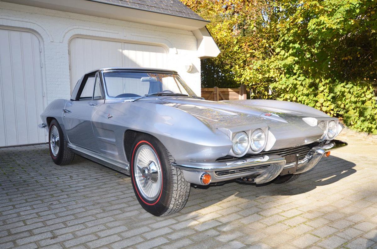 1964 Chevrolet Corvette Stingray C2 17 Jan 2020 For Sale by Auction (picture 1 of 6)