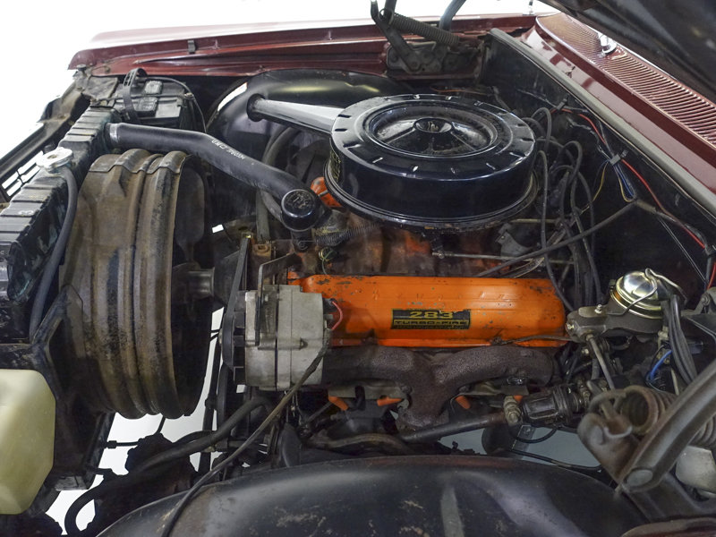 Palomer Red 1964 Chevrolet Impala V8 Convertible For Sale (picture 5 of 6)